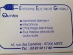 QUINTAS ELECTRICITE