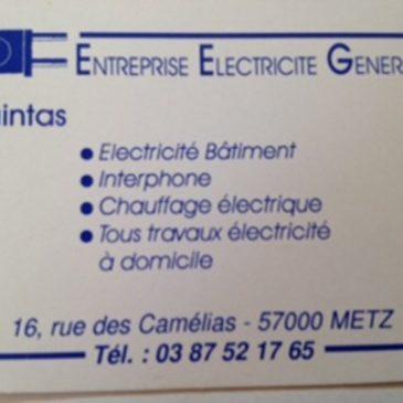 ELECTRICITE QUINTAS