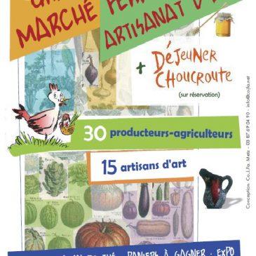 4e Marché fermier le 5 novembre !